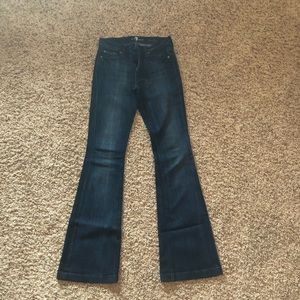 7 For All Mankind Charlize Wide Flare Jeans
